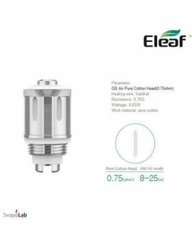 Eleaf GS Air 2 coil 0,75ohm/8-25W (1 pz) per GS Air 2 e GS DRIVE