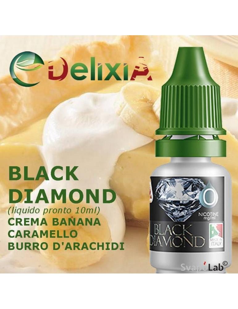 Delixia BLACK DIAMOND liquido pronto 10ml
