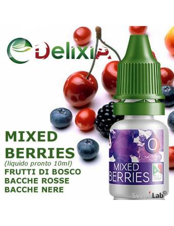 Delixia MIXED BERRIES liquido pronto 10ml