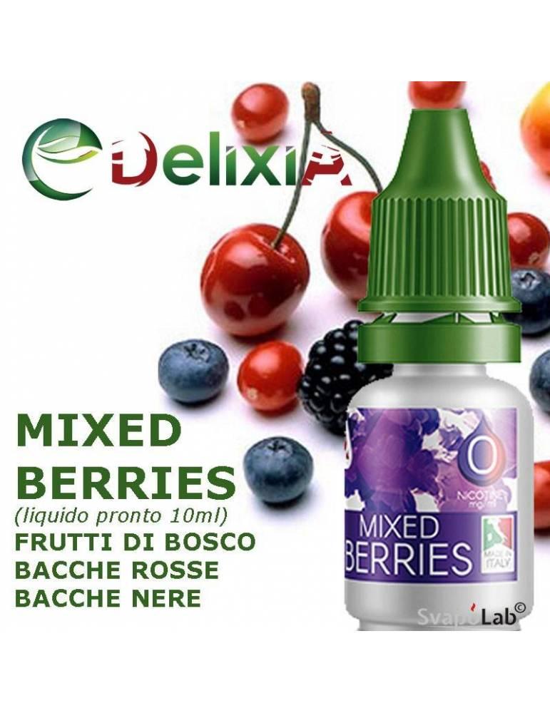 Delixia MIXED BERRIES 10ml liquido pronto