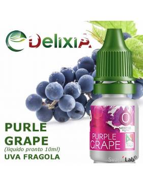 Delixia PURPLE GRAPE 10ml liquido prontol