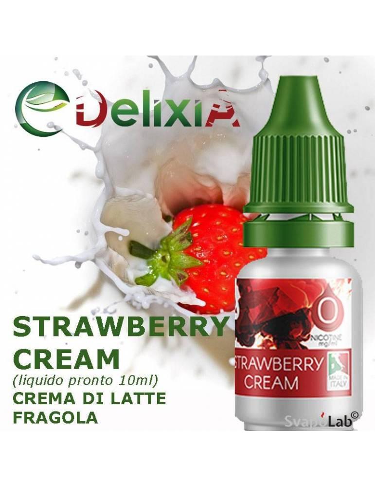 Delixia STRAWBERRY CREAM liquido pronto 10ml