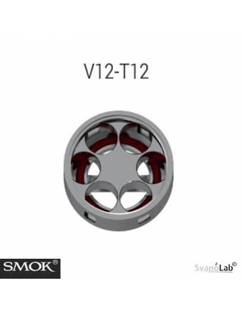 """Smok """"TFV12"""" T12 coil 0,12ohm/60-350W (1 pz) - DETTAGLIO"""