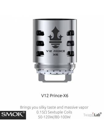 Smok V12 Prince X6 coil 0,15ohm/50-120W (1 pz)