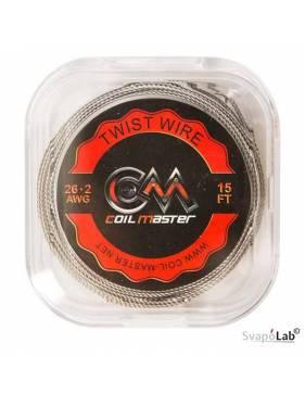 Coil Master TWIST filo resistivo 26x2 GA (5mt)