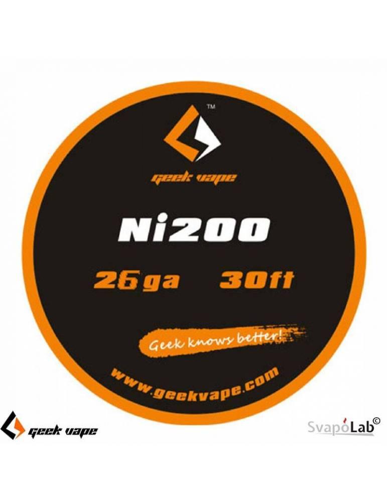 Geekvape NI 200 filo resistivo 26 GA (10mt)