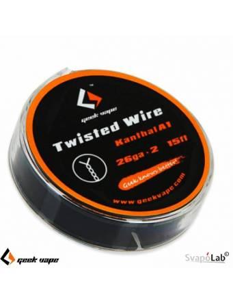 Geekvape KANTHAL A1 Twisted filo resistivo 26 * 2 (5mt)
