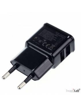 Adattatore di rete doppia USB - 2A caricabatteria rapido