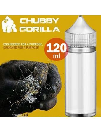 Flacone Unicorn 120ml CHUBBY GORILLA – TRASPARENTE