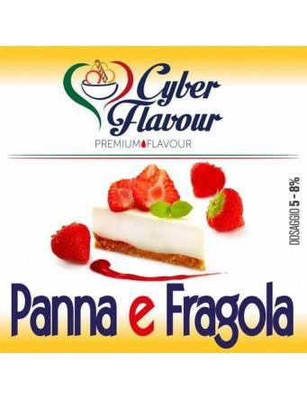 Cyber Flavour PANNA E FRAGOLA 10 ml aroma concentrato