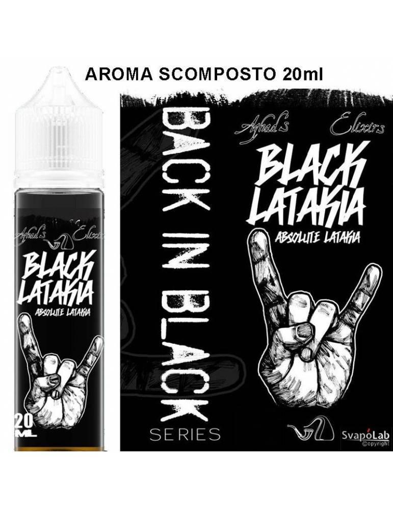Azhad's Back in Black BLACK LATAKIA 20 ml aroma scomposto