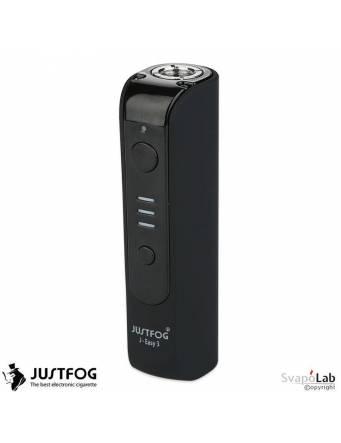 Justfog J-EASY 3 battery 900 mah (BLACK) vista verticale