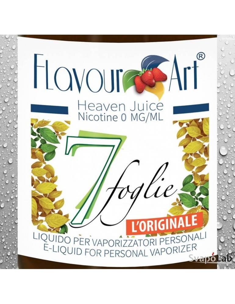 FLAVOURART Tabacco 7 foglie liquido pronto 10ml