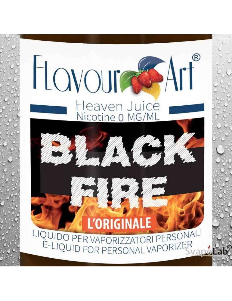 FLAVOURART Tabacco Black Fire 10ml liquido pronto