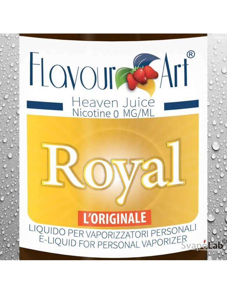 FLAVOURART Tabacco Royal liquido pronto 10ml