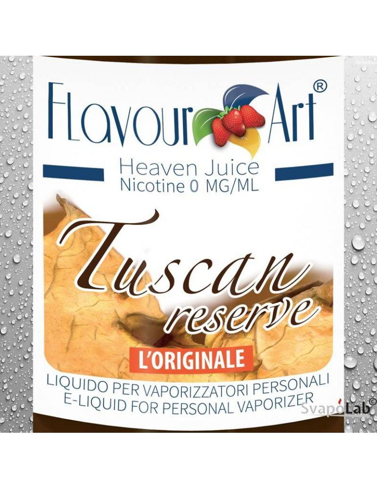 FLAVOURART Tabacco Tuscan Reserve liquido pronto 10ml