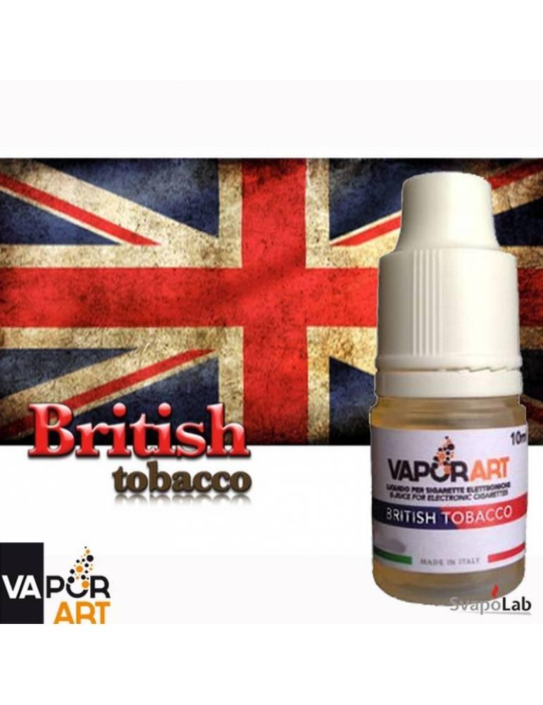 Vaporart BRITISH TOBACCO 10ml liquido pronto