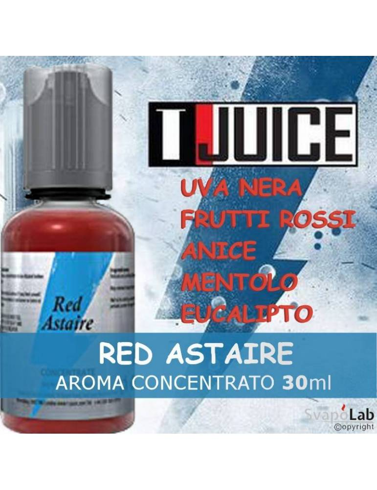 T-juice RED ASTAIRE 30ml aroma concentrato