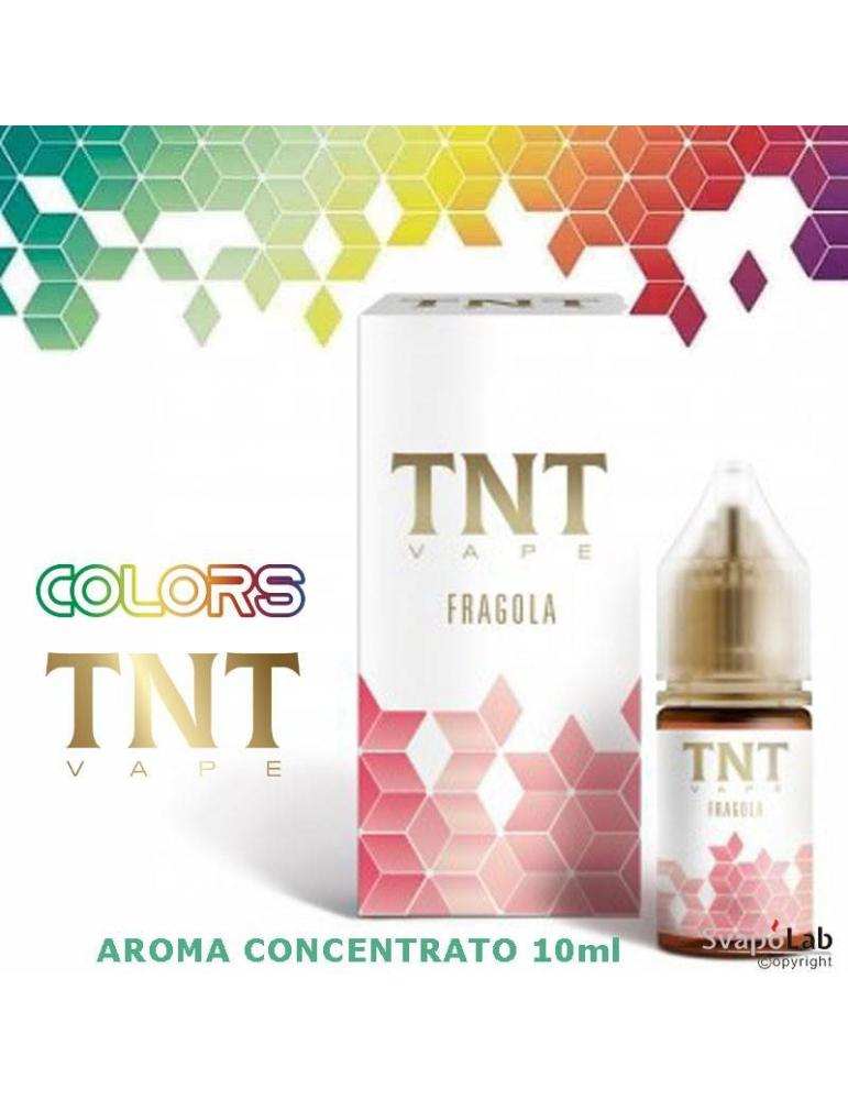 TNT Vape Colors FRAGOLA 10ml aroma concentrato