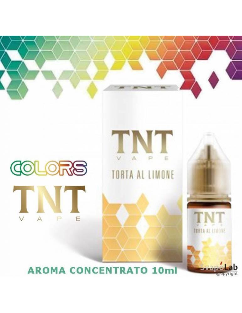TNT Vape Colors TORTA AL LIMONE 10ml aroma concentrato