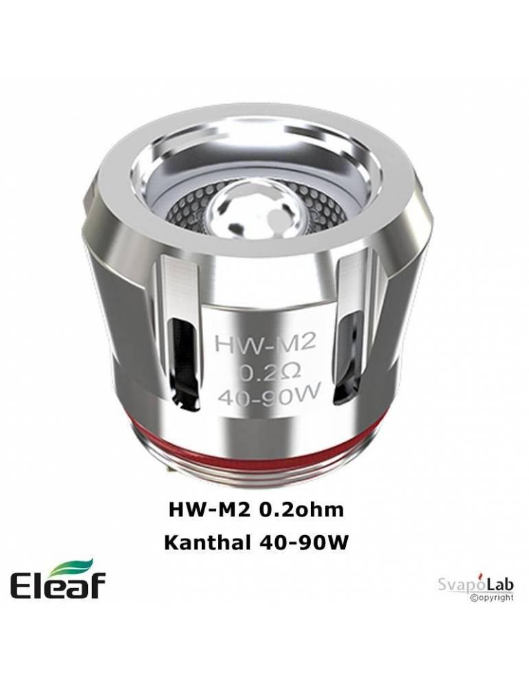 Eleaf HW-M2 Kanthal coil 0.20ohm/40-90W (1 pz) per Rotor, ELLO Pop, new ELLO Duro