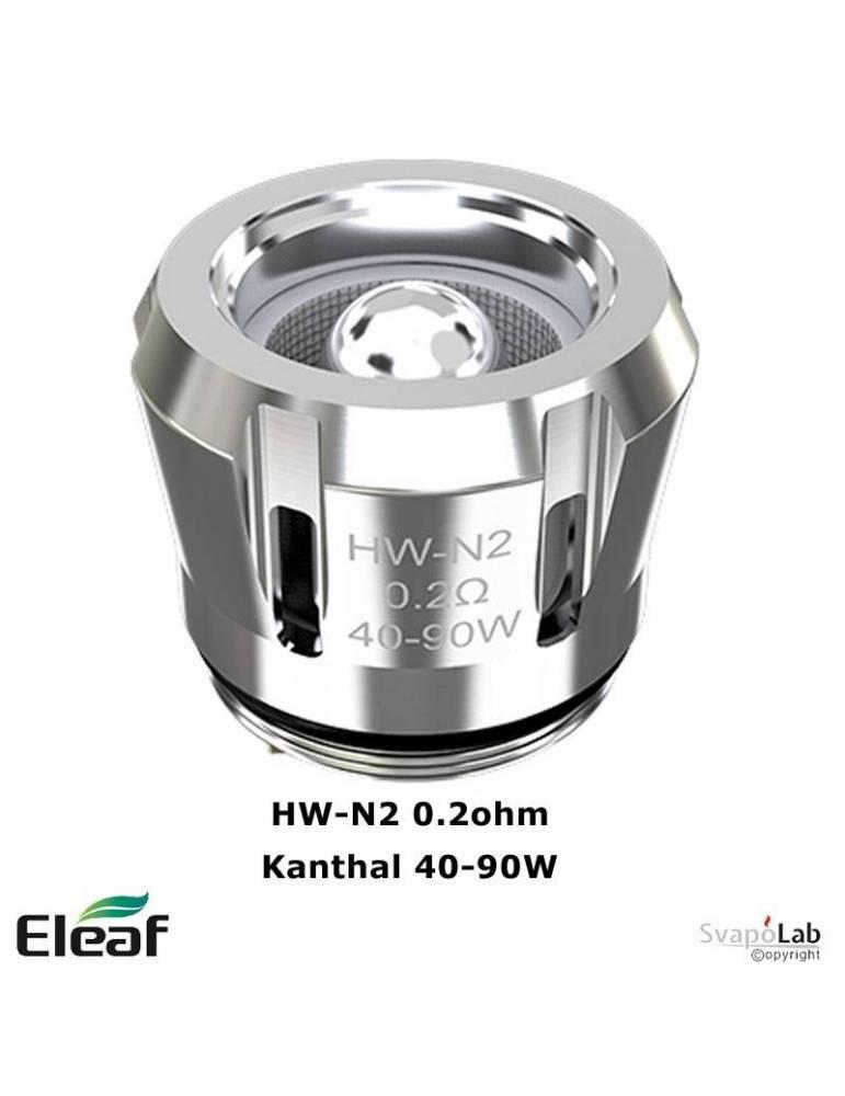 Eleaf HW-N2 Kanthal coil 0.20ohm/40-90W (1 pz) per Rotor, ELLO Pop, new ELLO Duro