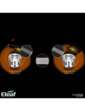 Eleaf iJUST 21700 kit con ELLO DURO 5,5ml (ø25mm), le resistenze