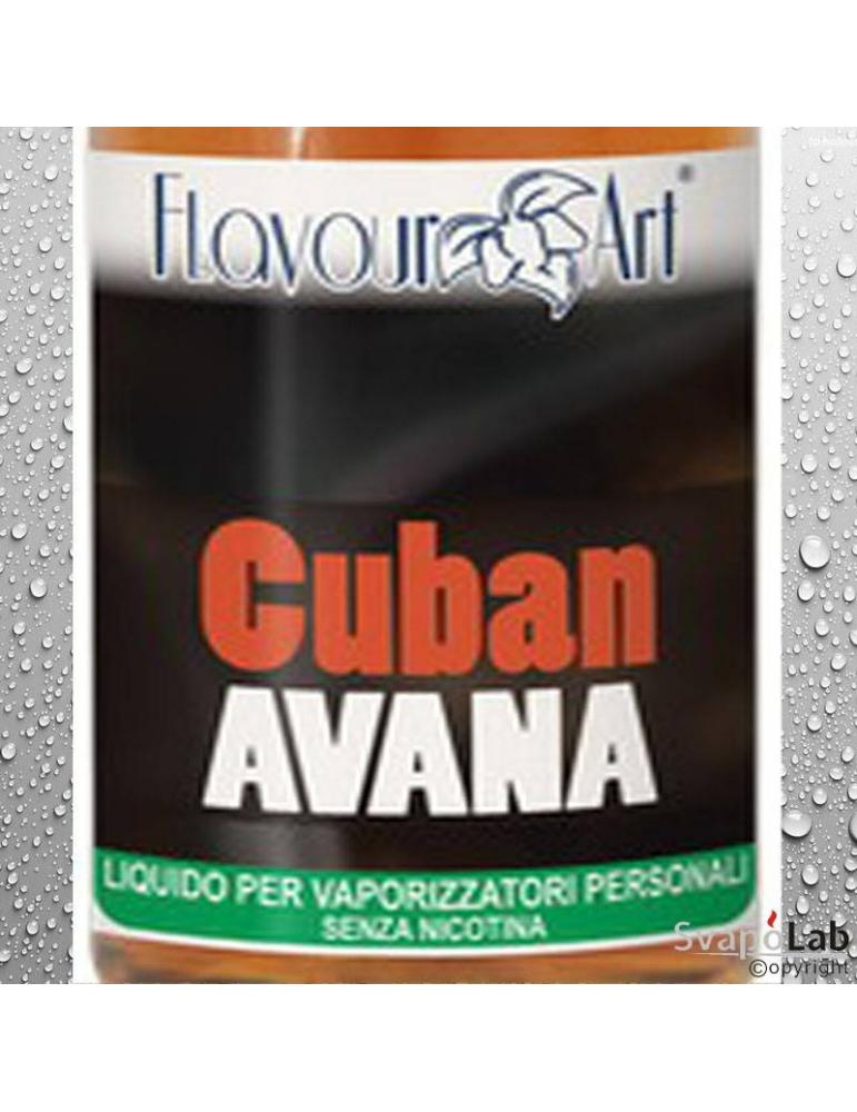 Flavourart Tabacco Cuban Avana 10ml liquido pronto