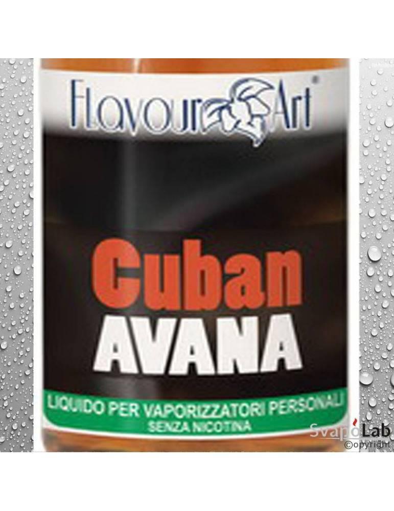 Flavourart Tabacco Cuban Avana liquido pronto 10ml