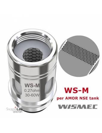 Wismec WS-M DTL coil 0,27 ohm/30-60W (1 pz) per AMOR NSE