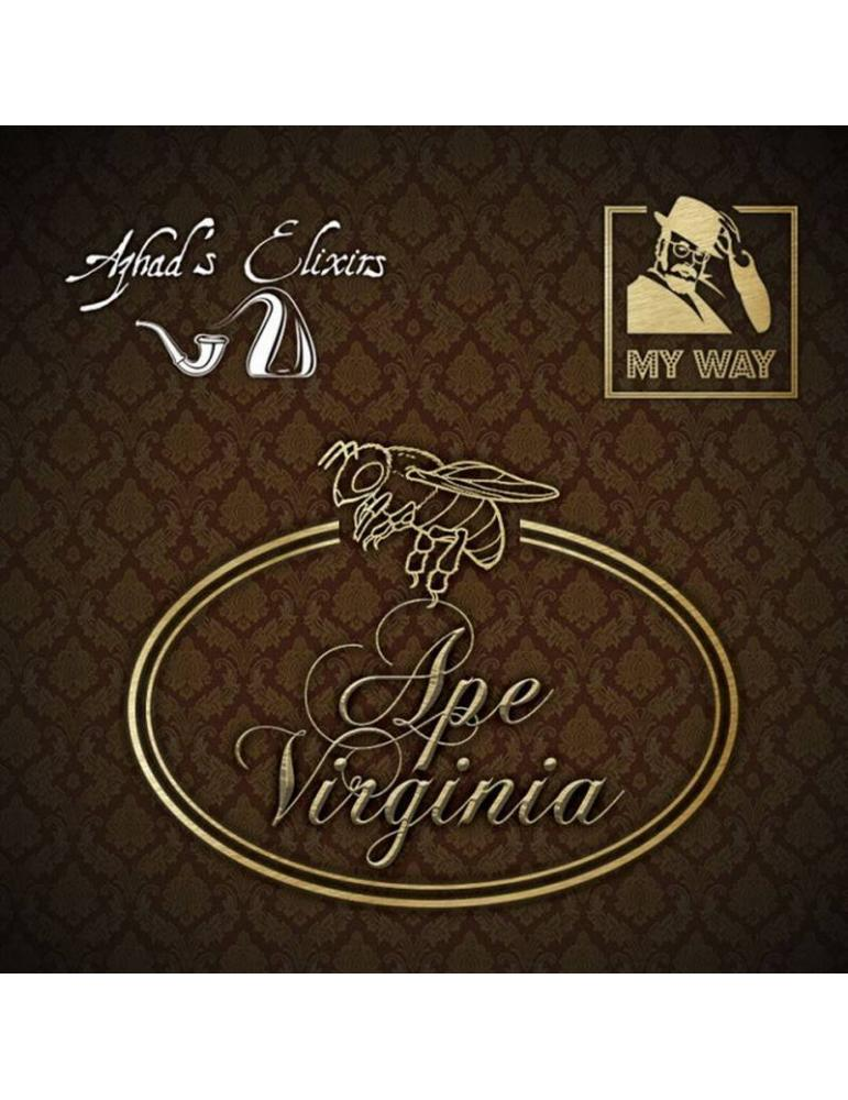 Azhad's My Way APE VIRGINIA 10 ml aroma concentrato