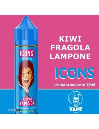 Pro Vape Icons MICHAEL VAPES ON 20 ml aroma scomposto