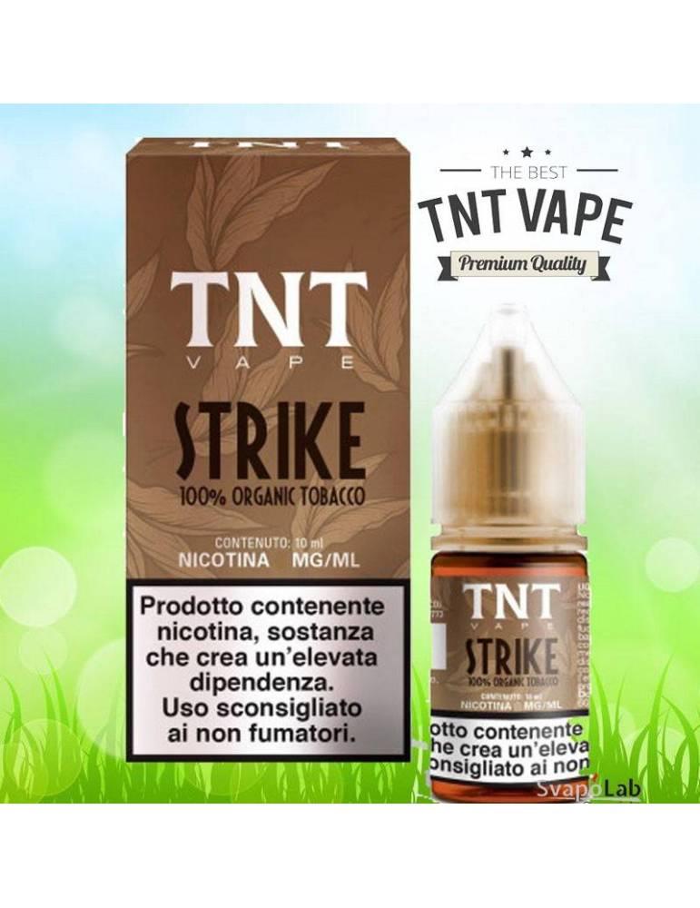 TNT Vape STRIKE 10ml liquido pronto (organic tobacco)