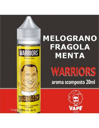 Pro Vape Warriors VIAGRASCONI 20 ml aroma scomposto