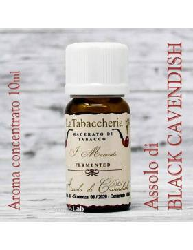 La Tabaccheria - Assolo di BLACK CAVENDISH 10 ml aroma concentrato