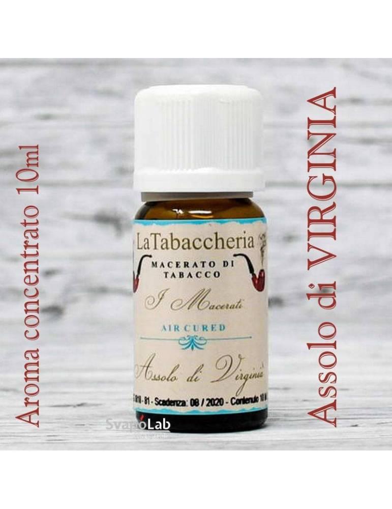 La Tabaccheria - Assolo di VIRGINIA 10 ml aroma concentrato