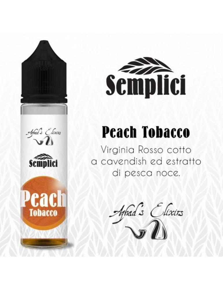 Azhad's Semplici PEACH TOBACCO 20 ml aroma scomposto