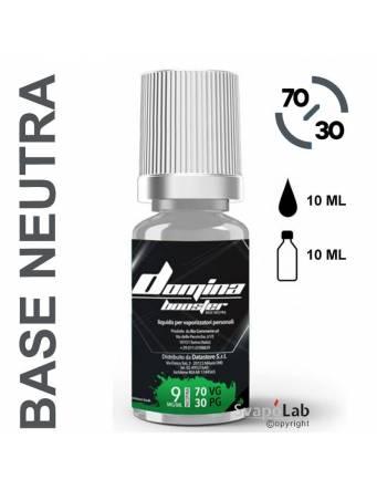 Domina Base BOOSTER 70/30 - 10ml - nic.09mg/ml (basetta neutra con nicotina)