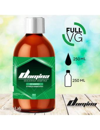 Domina full VG 250 ml - Glicerina Vegetale