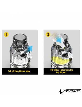 Vzone PRECO 2 DTL 3,5ml/ø24mm - riempimento eliquid