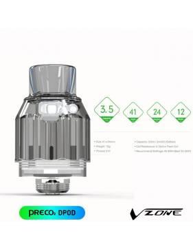 Vzone PRECO 2 DTL 3,5ml/ø24mm - dimensioni