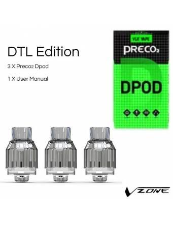 Vzone PRECO 2 DPOD 3,5ml/ø24mm (3 pz)