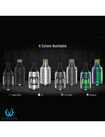 Vandy Vape BSKR V1.5 Mini MTL-RTA (ø22mm) - colori