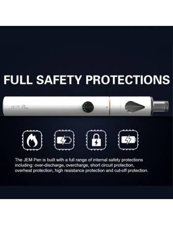 Innokin JEM PEN aio kit 1000mah-2ml (ø16mm) - protezioni