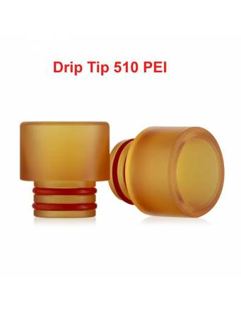 Drip Tip 510 PEI (1 pz)