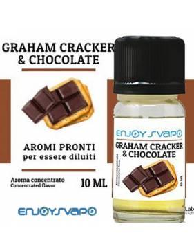 EnjoySvapo GRAHAM CRAKER & CHOCOLATE 10ml aroma concentrato