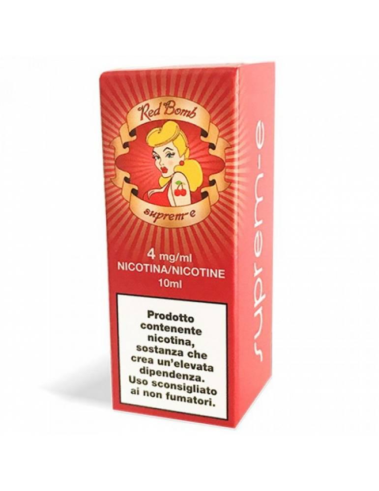 Suprem-e RED BOMB 10 ml liquido pronto