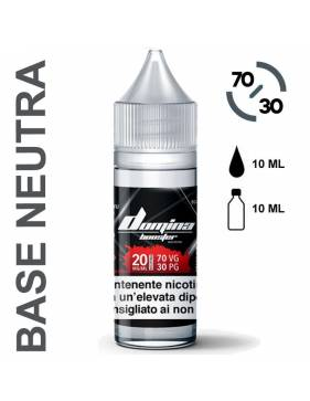 Domina Base BOOSTER 70/30 - 10ml (basetta con nicotina 20mg/ml)