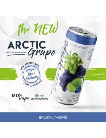 Enjoy Svapo ARCTIC GRAPE 50ml Mix&Vape