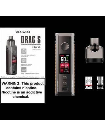 VooPoo DRAG S pod kit 2500mah/60W (pod 4,5ml) - conf ezione